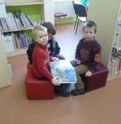 Návštěva knihovny - MŠ Sadová