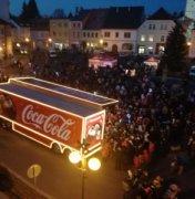 Vánoční Coca Cola kamion * Tachov 2018